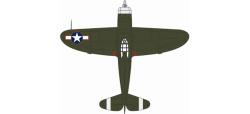 P47D Thunderbolt USAAF Europe 1943