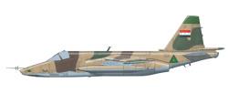 Sukhoi SU-25 Frogfoot Iraqi Air Force - Jaleiah Air Base