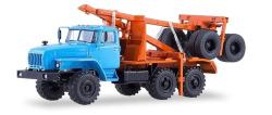 URAL-43204-41 Holz LKW