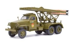 Studebaker US6 BM-13 Raketenwerfer