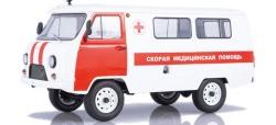UAZ-3962 Sanitätsfahrzeug