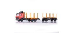 MAZ 6303 Holztransporter-Hängerzug