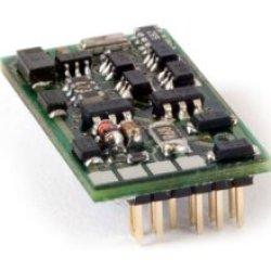 Lokdecoder Silver+ PluX-12, mit Schnittstellenstecker NEM 653