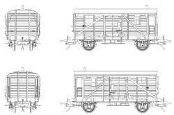 Güterzuggepäckwagen Pwg Pr 14 der DB, Epoche III