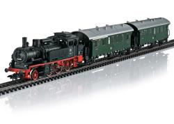 *MHI/Digital-Startpackung Gleis 1 MS2  mit BR 74, DB, Ep. III und 2 Personenwagen