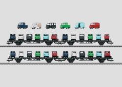 Auto Transport Car Set.