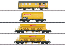 MHI/Wagen-Set Bahnbau Gruppe (4 Wagen)