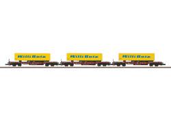 Güterwagenset Güterverkehr