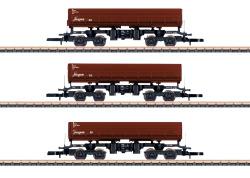"MHI/Wagen-Set ""Seitenkippwagen"", DB AG, Ep VI"