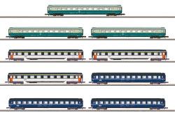 MHI/Wagendisplay Schnellzugwagen 9 Reisezugwagen, DB, SNCF, SBB