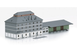 Bausatz WLZ-Gebäude mit Markt