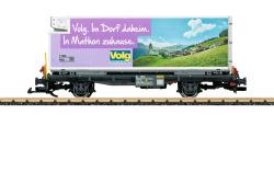 Containerwagen Volg RhB