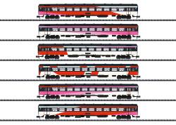 Schnellzugwagen-Set ICRm, Ep VI