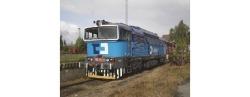 Diesellok  Serie 750 der CD Cargo