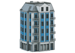 Bausatz Eck-Stadthaus im Jugendstil