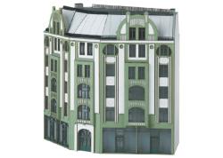Bausatz Winkel-Stadthaus im Jugendstil