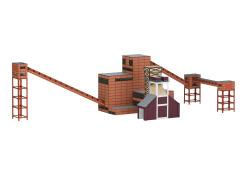 Bausatz Zeche Zollverein Kokerei