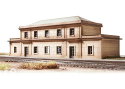 Bausatz Gare Auvers sur Oise