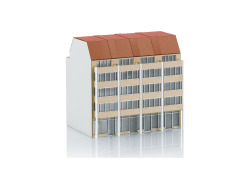 Bausatz City-Wohnhäuser
