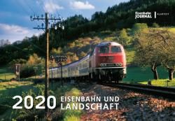 Kalender Eisenbahn und Landschaft 2020