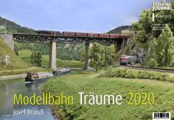 Kalender 2020 Modellbahn-Träume - Josef Brandl