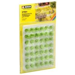 "Grasbüschel XL ""Feldpflanzen"" 12 mm, grün, veredelt, 42 Stück"