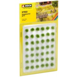 Grasbüschel, grün 6mm, 42 Stück