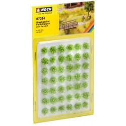 Grasbüschel Feldpflanzen 6mm, grün veredlt, 42 Stück