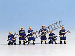 Technisches Hilfswerk, 6 Figuren + Zubehör