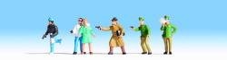 Böse Buben, 6 Figuren