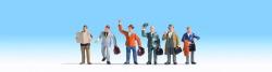 Geschäftsreisende, 6 Figuren
