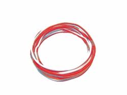 G-Kabel orange/weiß (25m)