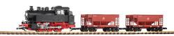 G-Start-Set Güterzug BR 80 + 2 Schüttgutwagen (Achtung: Sperrgut)