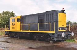 N-Diesellok 2400 grau-gelb,