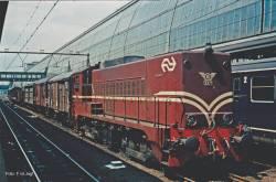 N-Diesellok NS 2271 rotbraun