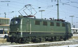 ~E-Lok BR 141 DB IV, grün + lastg Dec.