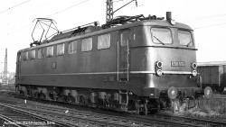 E-Lok BR E 50 DB III, grün
