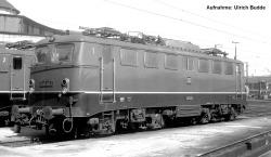 ~E-Lok E 40 DB III, grün + PluX22 Dec.