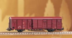 Gedeckter Güterwagen Gbs258 DB-AG V mit DB-Logo