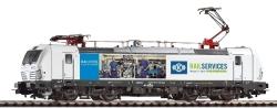 ~E-Lok Vectron 193 RAIL SERVICES, Knorr Bremse VI, zwei Pantos + lastg. Dec.