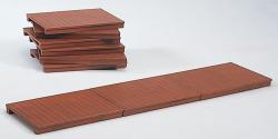 Holz-Gehsteige (6 Stck.)