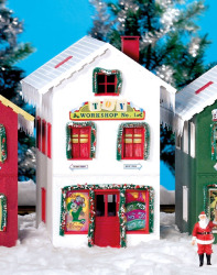 North Pole Toy Workshop (Pre-Built)