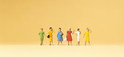 Weibliche Passanten