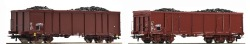 Set: Offener GüterwagenEaos+Kohle 2