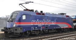 E-Lok Rh 1116 Nightjet