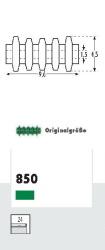 0 Groove insulator, green 4.5 x 9.6 mm (24 pcs.)