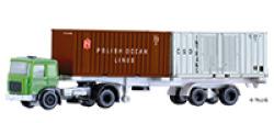 LKW MAN mit Containerauflieger, beladen mit 2 Containern