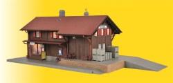 H0 Bahnhof Surava inkl. Hausbeleuchtungs-Startset, Funktionsbausatz