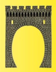 VOL/H0 Tunnelportal, eingleisig, 13 x 10 cm