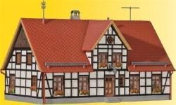 VOL/H0 Straßenplatte Kopfsteinpflaster, 90°-Einmündung, 22 x 19,5 cm
